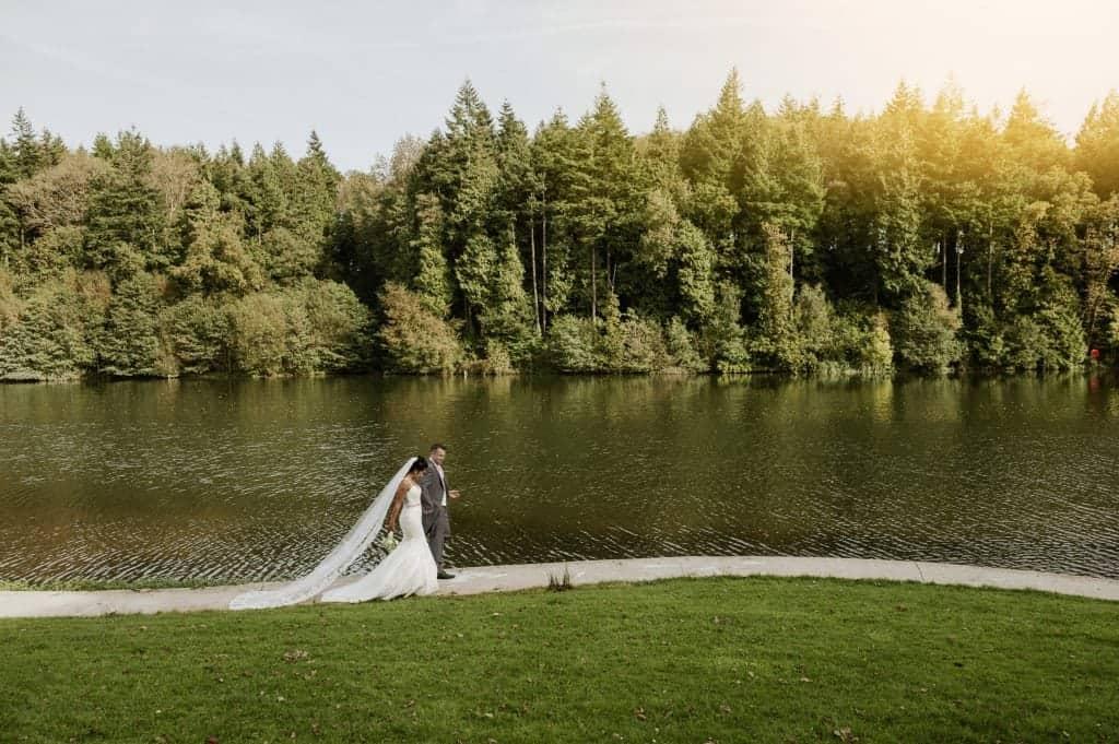 Canada Lodge & Lake Wedding