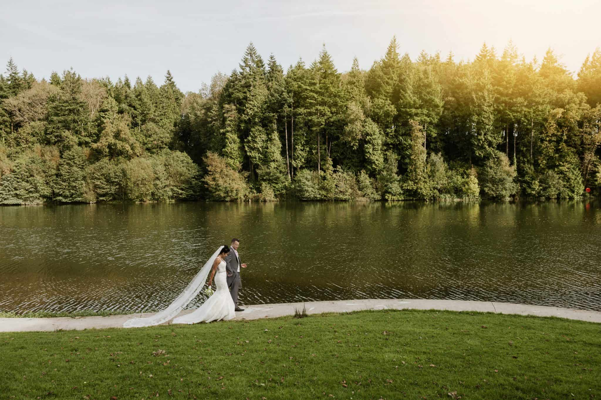 Canada Lodge & Lake Wedding