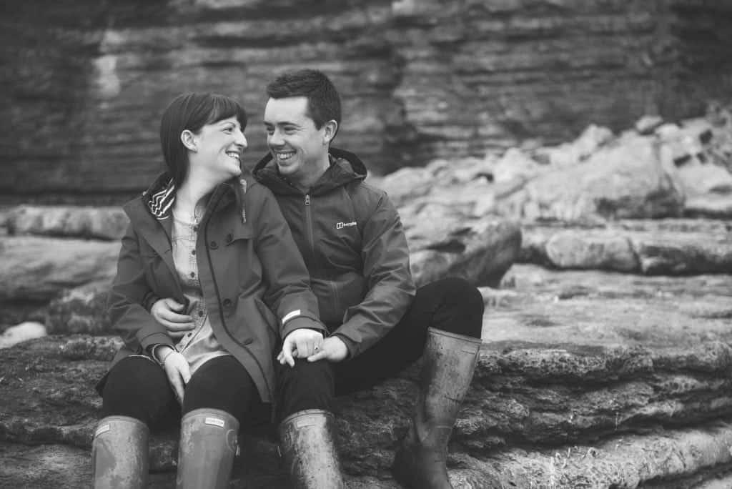 Pre Wedding Shoot Dunraven Bay