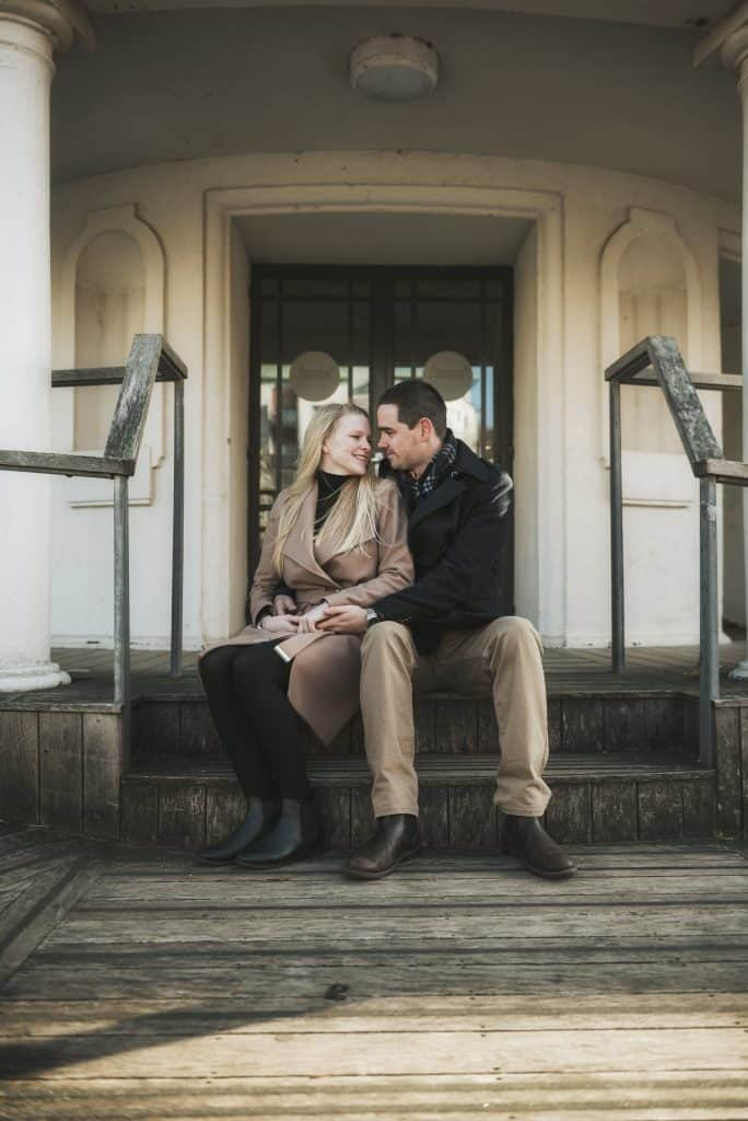 Pre Wedding Shoot Penarth Pier